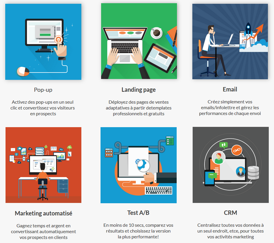 Outils de marketing Automation