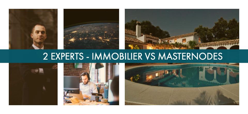 Expert immobilier & Masternode