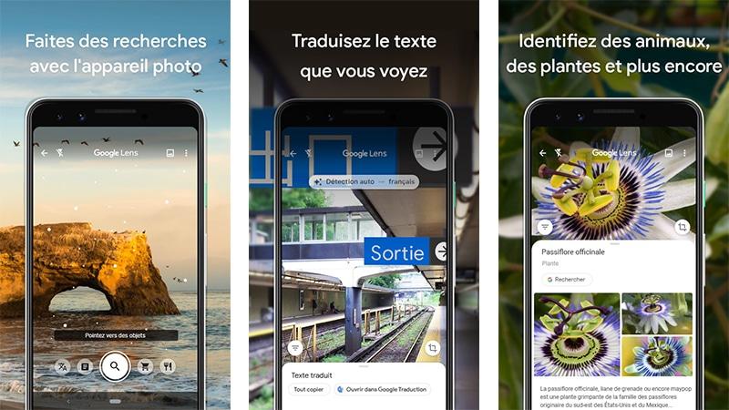 Pinterest technologie google lens outil entrepreneur digital